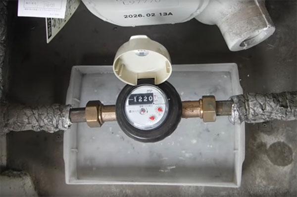 水道メーターの有効期限は8年